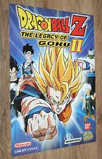 2003 Nintendo Dragon Ball Z The Legacy of Goku II / Beyblade Poster 30x42cm