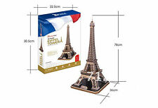 3D Jigsaw Puzzle Scale Model DIY Toy Decoration Monument Paris Eiffel Tower