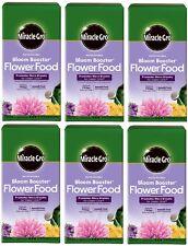 6 ea Miracle Gro 146002 4 lb Bloom Booster 10-52-10 Flower Food / Fertilizer