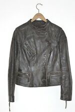 *STUNNING* All Saints Spitalfields Ladies CARLOTTA Leather Biker Jacket UK10 US6