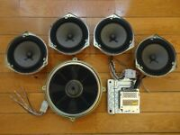 Bose 6-Piece Car Sound System *Powered* Speakers Acura TL 1999-2003 Honda