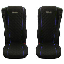 DAF 106 XF TRUCK SEAT COVERS WITH BLUE PIPING