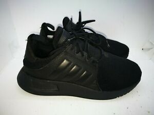 Adidas black casual trainers size 3.5