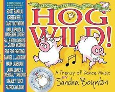 Hog Wild! : A Frenzy of Dance Music by Sandra Boynton (2017, Hardcover) FREE S/H