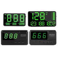 Ahomi C80 Digital GPS Tachometer Auto HUD Head Up Display Geschwindigkeitsw SL#