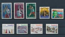 Lm91607 Canada olympics paintings fine lot Mnh