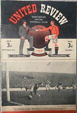 More details for manchester united v aston villa 1948/49