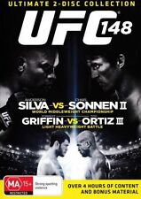 UFC: 148 SILVA VS SONNEN II  - 2 disc collection - brand new FREE POST!
