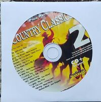 COUNTRY CLASSICS 2 KARAOKE CDG CHARTBUSTER ESSENTIALS ESP451-2 CD+G MUSIC