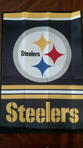 Garden Flags-NFL Officially Licensed Team Flag-Pittsburgh Steelers