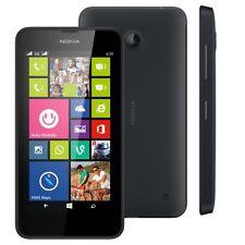 Neuf Nokia Lumia 630 Noir 8 Go Débloquer Smart Téléphone Caméra 5MP Windows 8.1