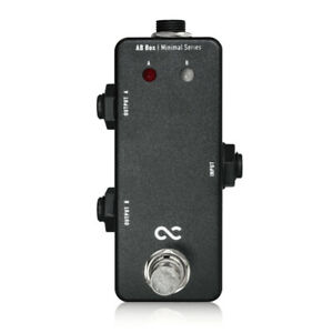 New One Control Minimal Series AB Box Switcher A/B Guitar Effects Pedal