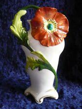 """Scheibe-Alsbach Art Nouveau / Jugendstil Vase """"Mohnblume"""" um 1930."""