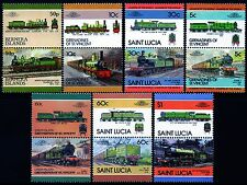 NER NORTH EASTERN RAILWAY Collection GB Train Stamps (Pre-LNER Locomotives)