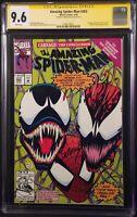 AMAZING SPIDER-MAN #363 CGC SS 9.6 NM+ MARK BAGLEY VENOM CARNAGE KNULL SYMBIOTES