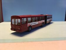 Wiking Vintage Mercedes Bus Sparkasse Red 1/87 Scale Rare/Selten Used Condition