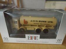 Efe 1/76 oo gauge diecast atkinson 8 wheel tanker lorry J & H Bunn Ltd new