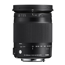 Sigma 18-300mm F 3.5-6.3 DC HSM OS Lens With Macro for Nikon Filter Size 72mm