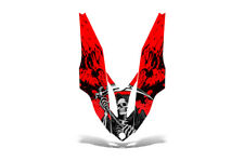 Yamaha APEX Hood Decal Wrap Graphic Kit XTX Sled Snowmobile 2006-2011 REAP RED