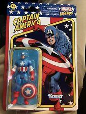 2021 Hasbro Kenner Marvel Legends Retro Captain America 3.75? Figure In Hand!