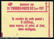 FRANCE COMPLETE BOOKLET SC# 1570b YV# 1972-C3 CONF 6