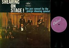 LP--SHEARING ON STAGE-- LIVE JAZZ