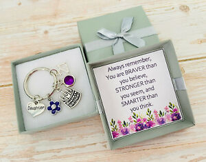 HAPPY BIRTHDAY Gifts Charm Keyring 12th 13th 18th 21st 30th 40th Gift for her