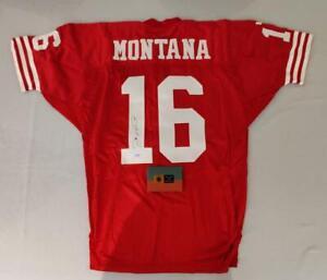 Joe Montana Signed Authentic San Francisco 49ers Jersey Upper Deck COA with Box