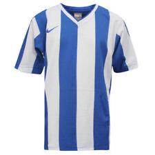 Camisetas de hombre de manga corta azul Nike