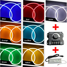 5M DC 12V Dimmable LED Strip Light Silicone Tube + 60W Power Supply + Dimmer