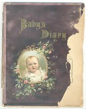 Baby's Diary (Borden Condensed Milk July 1900)