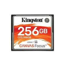 Kingston Canvas Focus 256Gb Compact Flash Memory Card