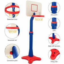 Kids Children Basketball Hoop Stand Adjustable Height Indoor Outdoor Sports