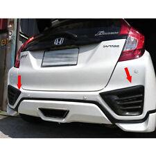 Carbon Fiber For Honda FIT JAZZ 4DR Rear Bumper Vent Lip Flaps Cover Splitter