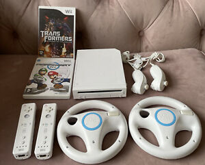 Nintendo Wii Mario Kart Pack 512MB White Console (PAL)