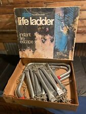 Instant Fire Escape Portable Steel Life Ladder 15 Ft 2 Story American LaFrance