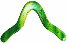 "Green ""Mantis"" Boomerang - Genuine handmade wooden returning easy throw, catch"