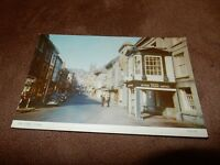 1970s postcard - Fore street Totnes - Devon