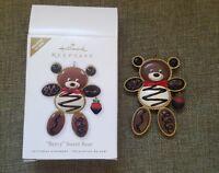 2010 Hallmark Ornament BERRY SWEET BEAR Register-To-Win Chocolates Rare
