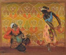 Eric Goldberg CAS FAC 1890-1969 Original Oil Painting Jewish Canadian Quebec
