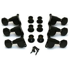 Gotoh Black Sealed 3x3 Mini Guitar Tuners TK-7762-003