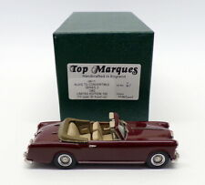 Top Marques 1/43 Scale HE11 - 1962 Alvis Convertible Series 2 - Maroon