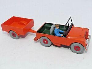 Original Dinky Toys 340 & 341 - Land Rover Jeep & Trailer - Near Mint Rare