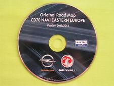 NAVIGATION OPEL CD 70 NAVI OSTEUROPA 2014 ZAFIRA ASTRA CORSA SIGNUM VECTRA COMBO