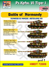 H-model Decalcomanie 1/72 Pz.Kpfw.Vi Tiger I battaglia di Normandia (Schwere ss-pz. ABT.10