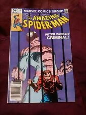 Amazing Spider-Man #219 (1981) Stan Lee signed inside Frank Miller Cover fn
