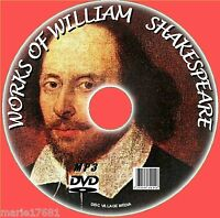 MASSIVE COLLECTION OF 220+ PLAYS POEMS WILLIAM SHAKESPEARE MP3 AUDIOBOOKS PC DVD