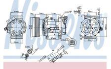 NISSENS Compresor aire acondicionado Para NISSAN QASHQAI 89372