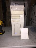 Dell Desktop Tower Case Pentium Pro Motherboard Vintage D5