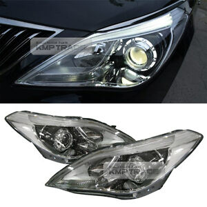 OEM Genuine Parts Front Head Light Lamp LH+RH Assembly for HYUNDAI 2012-18 Azera